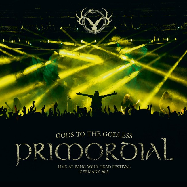 Primordial gods to the godless live at byh 2015 irish metal