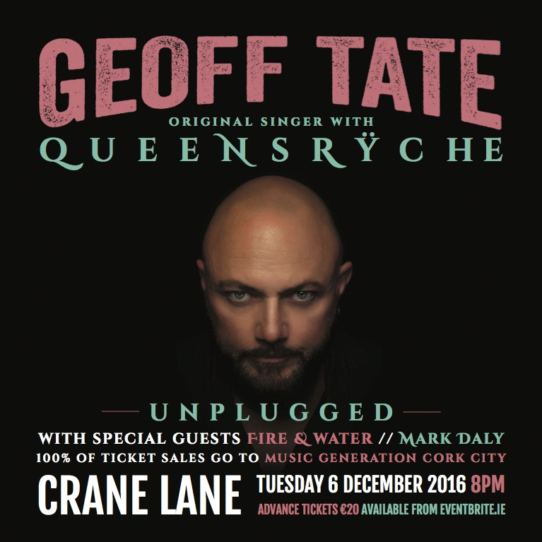Live An Acoustic Evening With Geoff Tate Cork 061216 Irish