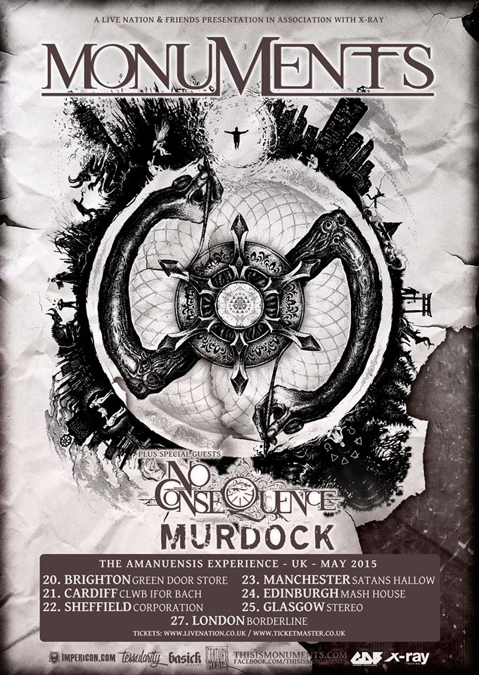 Murdock_with_Monuments_UK-tour