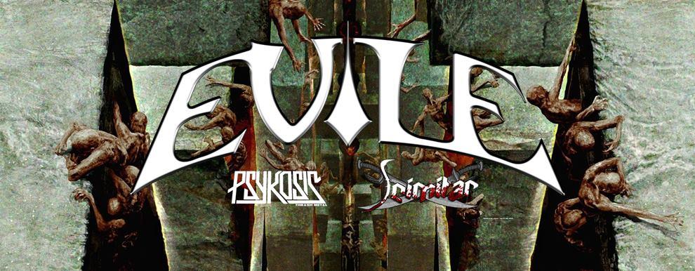 Evile-gig-banner